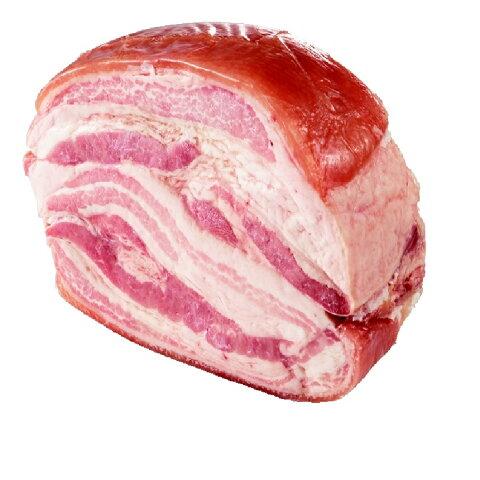 イタリア産パンチェッタ コッタ ドルチェ  約2kg (冷蔵) 生ハム原木/表示価格は1kg当たりです。1本あたりおよそ6000円ですが目方売り商品ですのでお支払い価格が変わります。