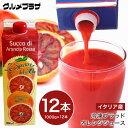 冷凍ブラッドオレンジジュース1000g×12本セット地域限定送料無料/イタリア産/モロ種/オルトジェル社