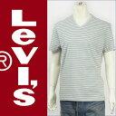 Levi's リーバイス 半袖VネックTシャツ ボーダー Levi's Red Tab Knit 92488-0003