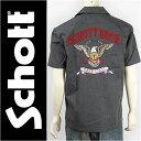 【送料無料】Schott ショット 半袖 ワークシャツ イーストコースト SCHOTT S/S WORK SHIRT EAST COAST 3155006-19 【smtb-tk】