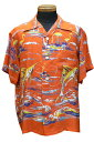 サンサーフHawaiian Shirt Fishing Boatss33322