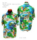 """ショッピングハワイアン Sun Surf(サンサーフ)SPECIAL EDITION(スペシャル エディション)Hawaiian Shirt(アロハ)ショートスリーブ""""FESTIVAL""""SS37862-19SSメンズ アメカジ 男性 半袖 アロハ 日本製 国産"""