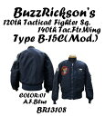 """BUZZ RICKSON'SバズリクソンズB-15C A.F.Blue(Mod.) """"B.RICKSON & SONS.INC.""""120th Tactical Fighter Sq. 140th Tac.Ftr. Wing2014年生.."""