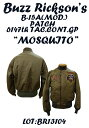 """BUZZ RICKSON'SバズリクソンズB-15A(Mod.)""""ARNOFF MFG .CO.""""6147th Tactical Control Squadron """"Mosquitoes""""2014年生産BR13104-14AWフ.."""