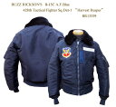 """BUZZ RICKSON'SバズリクソンズB-15C A.F.Blue428th Tactical Fighter Sq.Det-1""""Harvest Reaper"""" 2015年生産BR13339-15AWフライトジャケ.."""