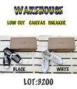 WareHouse(ウェアハウス) Lot3200LOW CUT CANVAS SNEAKER Wh-3200-15