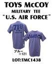 "TOYS McCOY (トイズマッコイ)MILITARY TEE ""U.S. AIR FORCE""半袖Tシャツ未洗いTMC1438-14SS「P」"