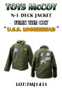 "TOYS McCOY (トイズマッコイ) N-1 DECK JACKET FELIX THE CAT ""U.S.S.LOGGERHEAD""TMJ1431-14AW「P」"