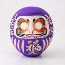 紫の福だるま;健康長寿・品格向上・祈願成就・至高など カラー...
