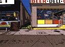 鈴木英人「DAYTONA BEACH」1985年 リトグラフ 額付版画作品国内 送料無料