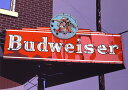 鈴木英人「BUDWEISER」1985年 リトグラフ 額付版画作品国内 送料無料