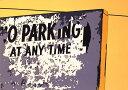 鈴木英人「NO PARKING AT ANY TIME」1985年 リトグラフ 額付版画作品国内 送料無料
