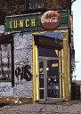 鈴木英人「LUNCH」1987年 リトグラフ 額付版画作品国内 送料無料