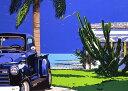 鈴木英人「BLUE SKY BLUES」1989年 リトグラフ 額付版画作品国内 送料無料