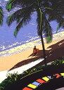 鈴木英人「WAVES PM.4」1989年 リトグラフ 額付版画作品国内 送料無料