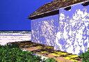 鈴木英人「BEACH HOUSE」1990年 リトグラフ 額付版画作品国内 送料無料