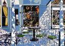 鈴木英人「クリスマスを待ちわびる陽ざし」(ノーマルエディション) -THE SUNLIGHT WAITING FOR CHRISTMAS-1992年 リトグラフ 額付版画作品国内 送料無料
