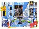 鈴木英人「クリスマスを待ちわびる陽ざし」(スペシャルエディション) -THE SUNLIGHT WAITING FOR CHRISTMAS(Special Edition)-1992年 リトグラフ 額付版画作品国内 送料無料