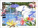 鈴木英人「汐風のささやくデッキ」(スペシャルエディション) -THE DECK WHISPERED BY SEA BREEZE(Special Edition)-1992年 リトグラフ 額付版画作品国内 送料無料