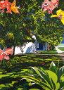 鈴木英人「お気に入りの島での暮らし」 -LIVING IN MY FAVORITE ISLAND-1992年 リトグラフ 額付版画作品国内 送料無料