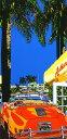 鈴木英人「アフタヌーン クルーズ」 -AFTERNOON CRUISE-1993年 シルクスクリーン 額付版画作品 国内送料無料