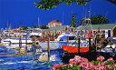 鈴木英人「アイランド ブリーズ」-ISLAND BREEZE- 1994年 シルクスクリーン 額付版画作品 国内送料無料