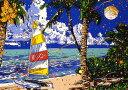 鈴木英人「リビング イン サザンアイランド」-LIVING IN SOUTHERN ISLAND- 1995年 シルクスクリーン 額付版画作品 国内送料無料