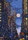 鈴木英人「バージン スノー-」VIRGIN SNOW- 1996年 シルクスクリーン 額付版画作品 国内送料無料