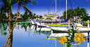 鈴木英人「風のように」-LIKE A WIND-1997年 シルクスクリーン 額付版画作品 国内送料無料