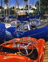 鈴木英人「情熱に生きる」-DREAM WHAT YOU WANT- 1998年 シルクスクリーン 額付版画作品 国内送料無料