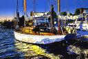 鈴木英人「海に祈りを」-LIFE IS AN OCEAN- 2000年 シルクスクリーン 額付版画作品 国内送料無料