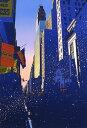 鈴木英人「トワイライト モーニング」 -TWILIGHT MORNING-2000年 シルクスクリーン 額付版画作品 国内送料無料