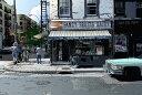 鈴木英人「ブリッカー ストリート グロッサリー」-BLEECKER ST.GROCERY- 2000年 EMグラフ 額付版画作品 国内送料無料