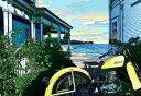 鈴木英人「風に吹かれて」 -BLOWIN' IN THE WIND-2001年 EMグラフ 額付版画作品 国内送料無料