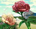 鈴木英人「二人の気持」-COUPLE HEART- 2001年 EMグラフ 額付版画作品 国内送料無料