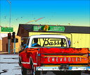 鈴木英人「シボレー ピックアップ 2」-CHEVROLET PICKUP - 2001年 EMグラフ 額付版画作品 国内送料無料