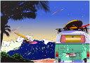 鈴木英人「バン アンド ウィンドサーフ」-VAN & WINDSURF- 2001年 EMグラフ 額付版画作品 国内送料無料