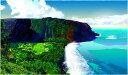 鈴木英人「ビッグアイランドの伝説」-THE LEGEND OF THE BIG ISLAND- 2005年 EMグラフ 額付版画作品 国内 送料無料