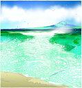 鈴木英人「湘南の風」-SHONAN BREEZE- 2006年 EMグラフ 額付版画作品 国内 送料無料
