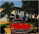 鈴木英人「夢のマイアミ」-DREAM OF MIAMI- 2001年 シルクスクリーン 額付版画作品 国内 送料無料