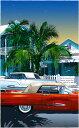 鈴木英人「想い出のフロリダ半島」-SOUTHERN SCENE- 2007年 EMグラフ 額付版画作品 国内 送料無料