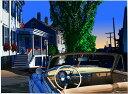 鈴木英人「懐かしき小さなホテル」-ROBERTS HOUSE- 2008年 EMグラフ 額付版画作品 国内 送料無料
