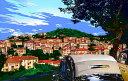 鈴木英人「我が故郷の丘にて」-VILLAGE LIFE- 2010年 EMグラフ 額付版画作品 国内 送料無料