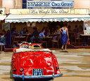 鈴木英人「波止場のひととき」-ROMANTIC HARBOR CAFE- 2010年 EMグラフ 額付版画作品 国内 送料無料