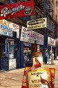 鈴木英人「シュープリーム タウン」-VINTAGE DOWNTOWN- 2011年 EMグラフ 額付版画作品 国内 送料無料