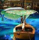 鈴木英人「キーボード フィッシュ」 -KEYBOARD FISH- 2011年 EMグラフ 額付版画作品 国内 送料無料