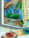 鈴木英人「窓からのメッセージ」2013年 EMグラフ 額付版画作品国内 送料無料