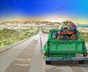 鈴木英人「遥かなるジュークの旅路」JUKEBOX MOVING2013年 EMグラフ 額付版画作品国内 送料無料