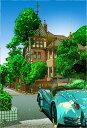 鈴木英人「北野・風見鶏の館」-WEATHERCOCK HOUSE- 2006年 EMグラフ 額付版画作品 国内 送料無料