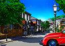 鈴木英人「神戸北野通り」 2013年 EMグラフ 額付版画作品国内 送料無料